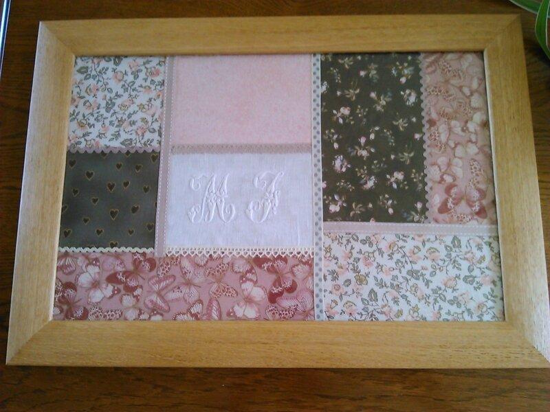 Le patchwork se décline en plateaux cottage