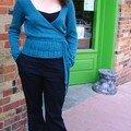 Ivy, modèle Knitty.com