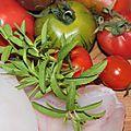 Laideur de la lotte et joues de lotte sauce tomates, estragon du mexique et baies roses de la réunion