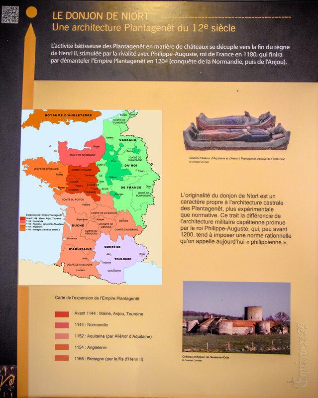 l'expansion de l'empire Plantagenêt - Donjon de Niort (3)