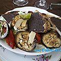 Salade aux légumes grillés