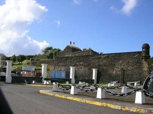 ST LOUIS FORTRESS - FORT DE FRANCE