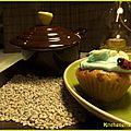 On se lance : cupcakes amande amère / fleur d'oranger