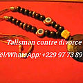 Talisman contre divorce