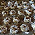 Biscuits aux noix et miel des ardennes