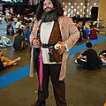 Cosplay Hagrid (Harry Potter)