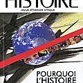 Ch : pourquoi l'histoire globale ?