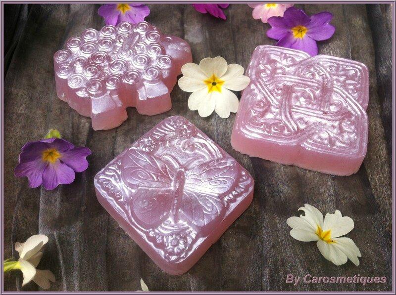 savon pink frosting
