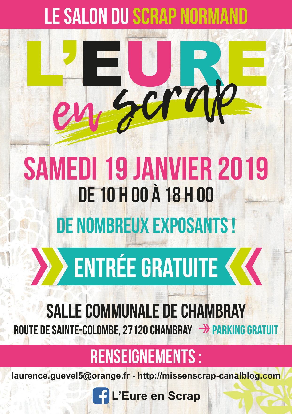 130218_flyer Eure en Scrap2019_105x148mm_Recto