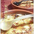 Creme brulee rhum & raisins secs