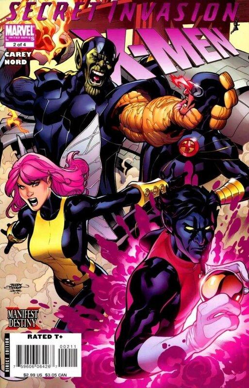 secret invasion x-men 2