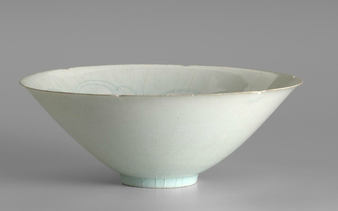 Bowl, Northern Song dynasty 960 CE-1127, Qingbai ware