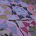 Le whimsy quilt ..