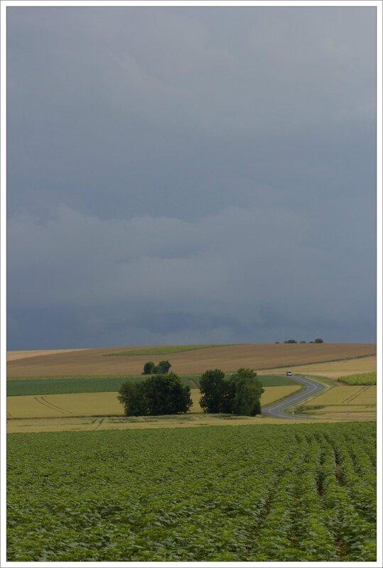 plaine orage arrive auto route 130615