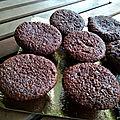 Muffins chocolat et lait de coco