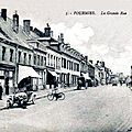 FOURMIES-Rue Cousin-Corbier 1923