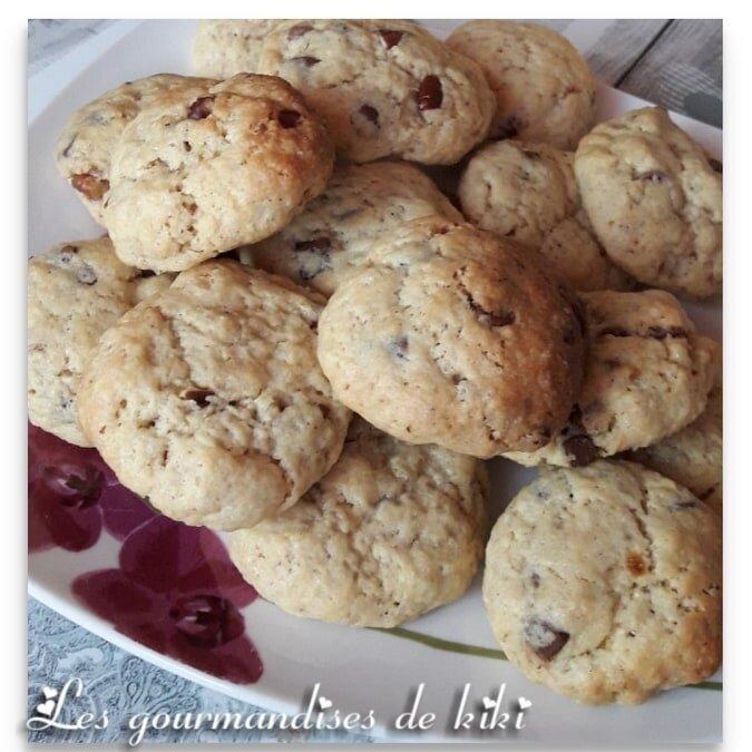 Cookies moelleux chocolat lait et noix de pécan