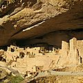 Cliff Palace, village indien, Mesa Verde