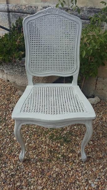 chaise après patinée