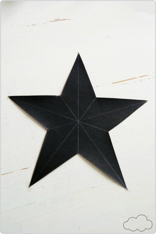 fabriquer étoile 3d