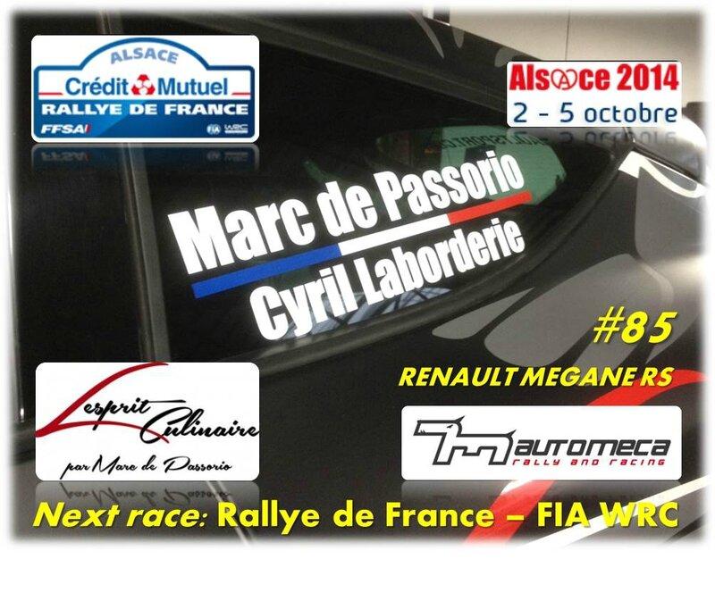 News Blog Rallye de France 2014