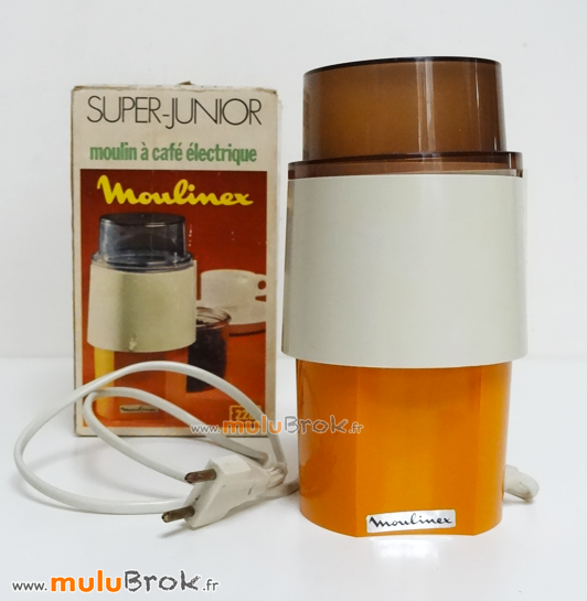 MOULINEX-Moulin-café-électrique-1-Orange-muluBrok-Vintage
