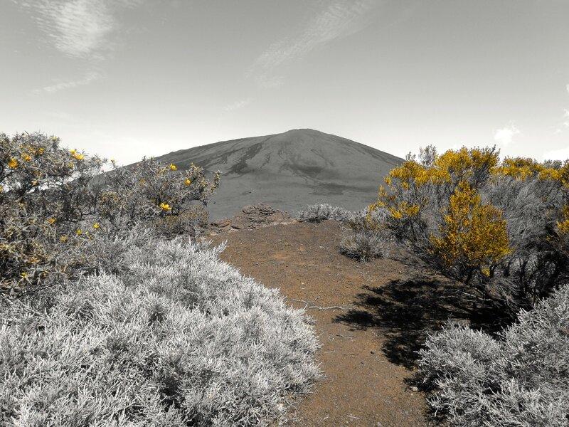 au volcan (effet jaune)