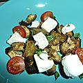 Salade d aubergines grillees a la feta
