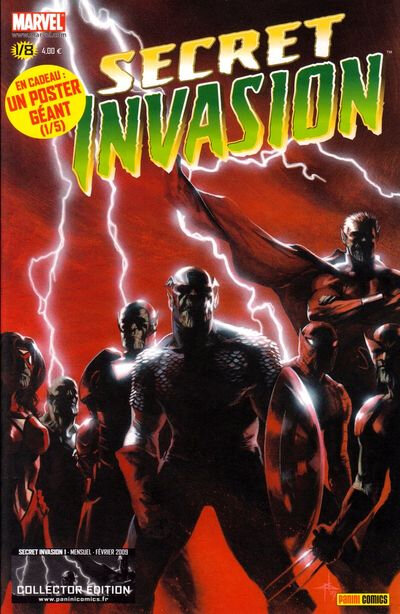 Panini Marvel Secret Invasion