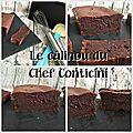 Gâteau au chocolat du chef philippe conticini