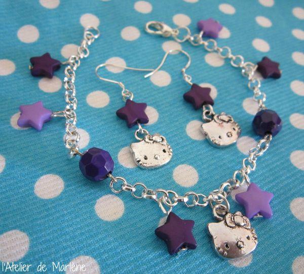 parure violette