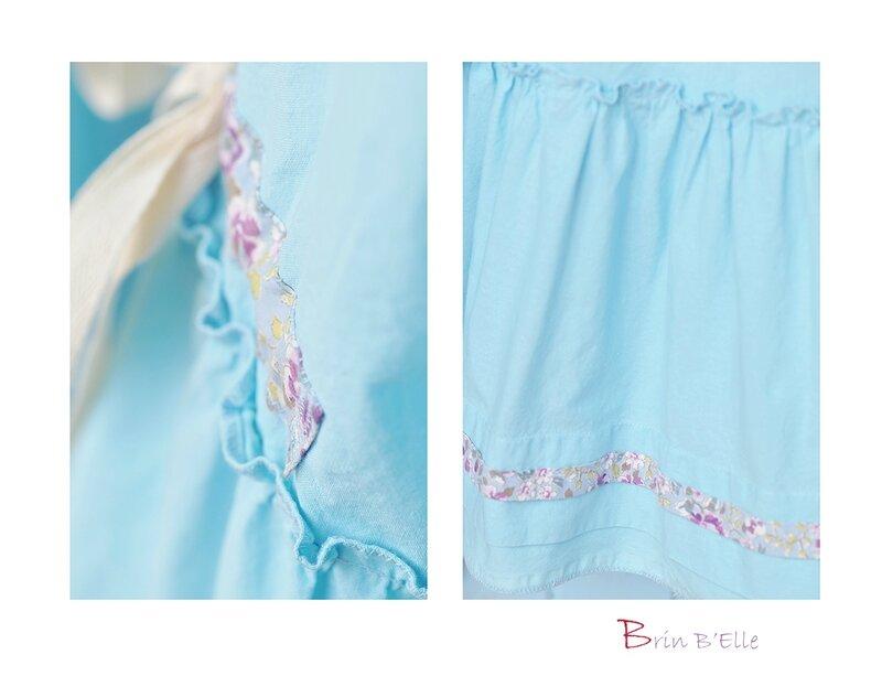 Blouse bleue 2