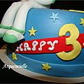 Gâteau Toys Story detail Woddy and buzz cake