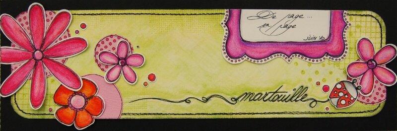 Martouille sketch juin 2010 des Poulettes