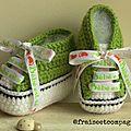 Mes nouvelles baskets...