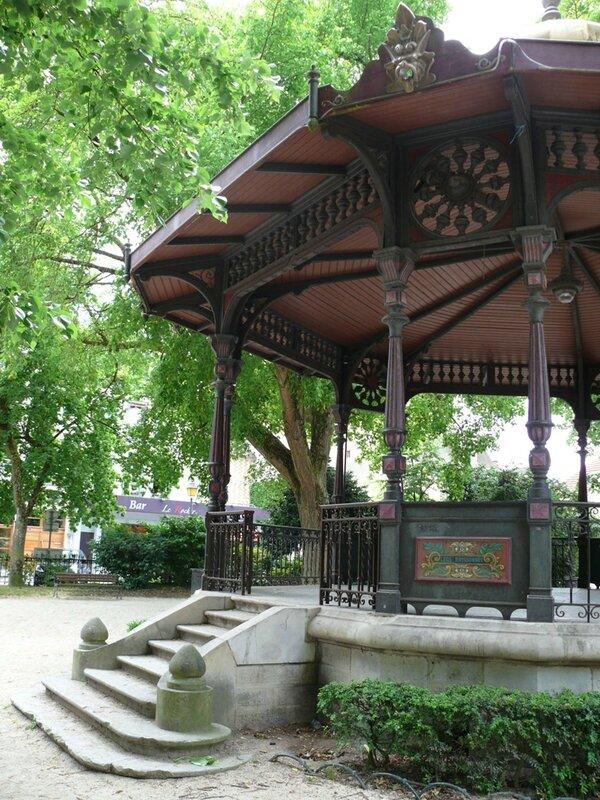 Kiosque à musique - Troyes