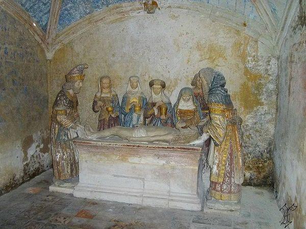 6_église St Sixte_Chapelle Rainsouin_mise au tombeau 1522