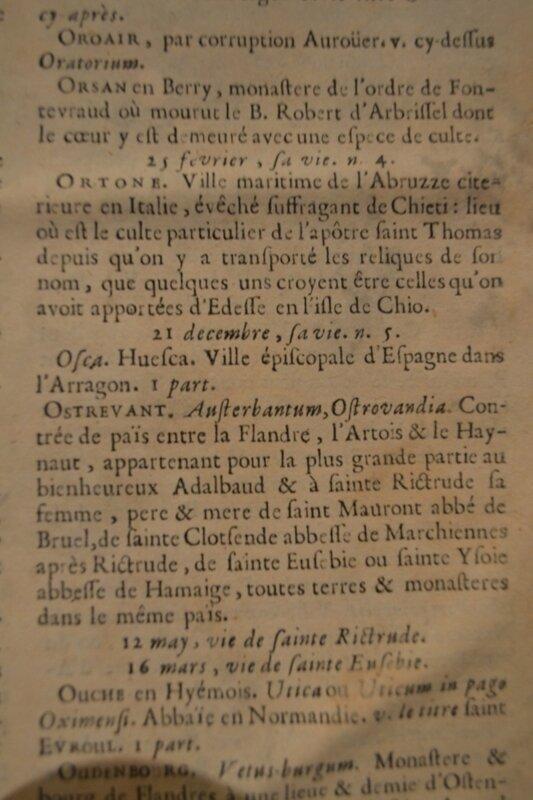 Robert d'Arbrissel (†1116) fondateur de Fontevraud ,archives écrits 1647