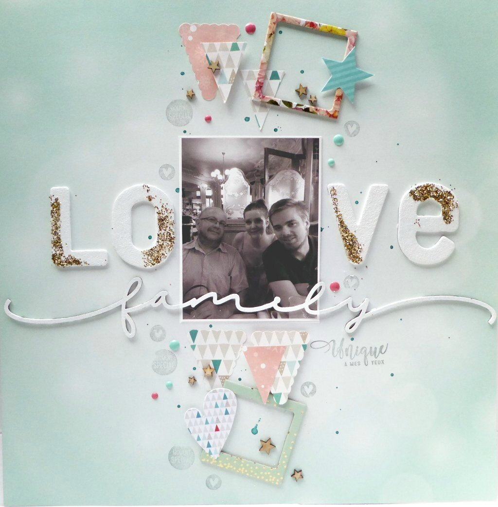 DT Scrapboo'Kit - Love Family