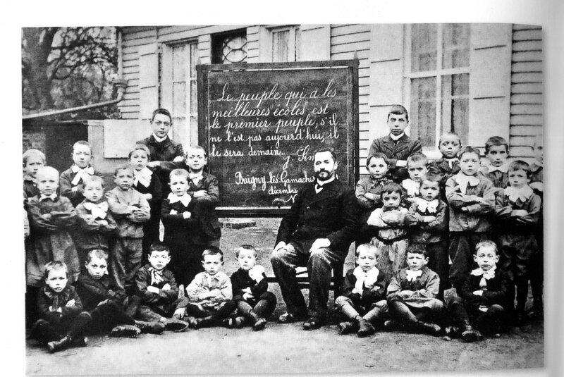 phot de classe 1905 slogan recadré