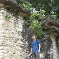 Bonampak - Standing next to Building 9 (?)