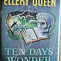 Ten days' wonder, d'ellery queen