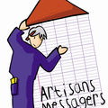 Logo Artisan Messager