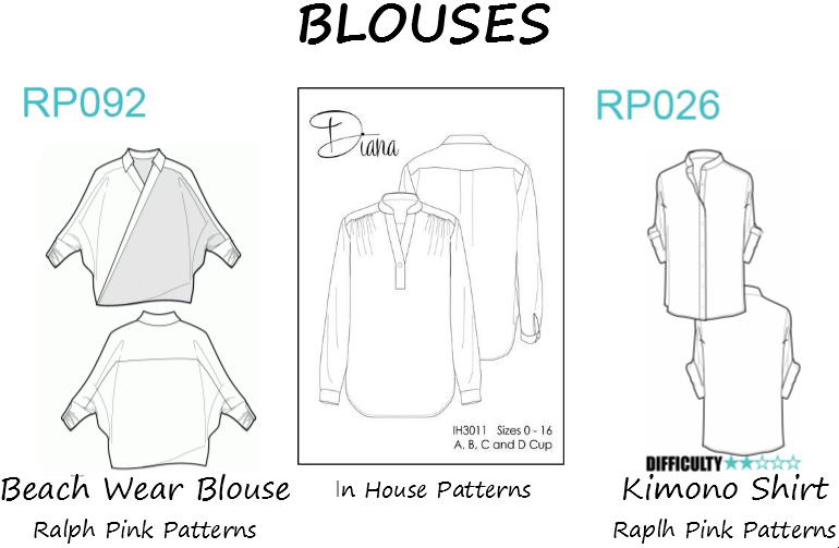 Patrons Blouses