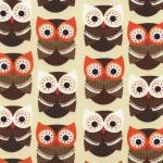 timeless treasures owls cream