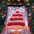Sapin de noel aux fromages vegetaux