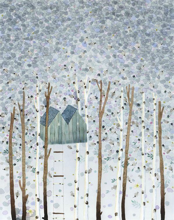 tree house by Anna Emilia