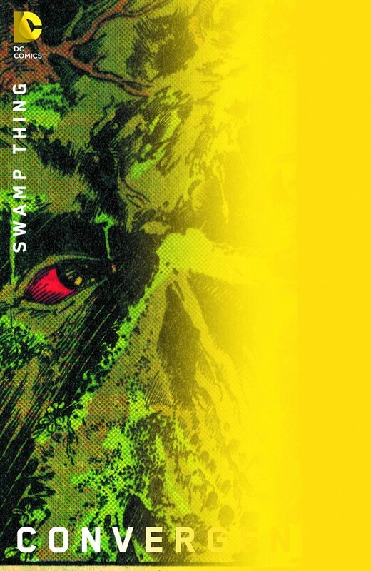 convergence swamp thing 1 chip kidd variant