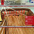 Le nouveau site des archives d'outre-mer