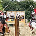 Le championnat d'europe de joute réelle à la cité médiévale de dinan (bretagne)